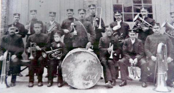 Manea Silver Band, 1905