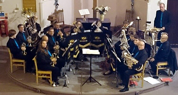 A concert at Trinity Church March in December 2013