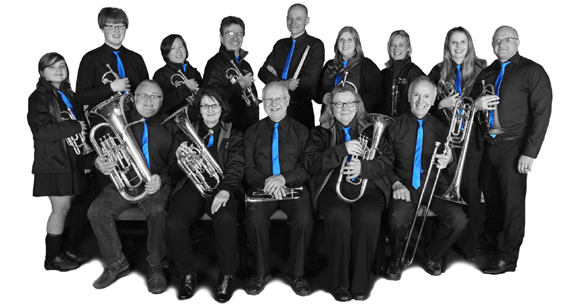 Manea Silver Band in April 2016